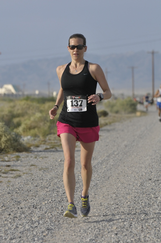 2013 - After cutting out dairy, lots of gluten and practicing Chi Running